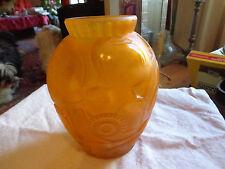 Superbe vase art déco , P. D' Avesn modèl pavots