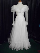 Wedding Gown/Dress Size 10 Vintage (Bank Foreclosure)