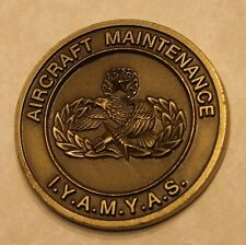 Aircraft Maintenance Badge IYAMYAS Air Force Challenge Coin