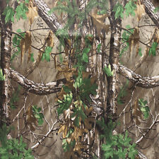"REALTREE Xtra Green Camo Fabric 100% Cotton Fabric 45"" Wide Lightweight"