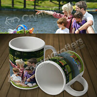 Personalised Custom Photo Mug Cup Gift 11oz - Your Photos, Text & Design