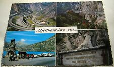 Switzerland St Gotthard Pass 1027-14 - posted 1971