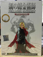 Anime DVD: Fullmetal Alchemist Brotherhood Complete_ENGLISH AUDIO & Sub_FREE SH'