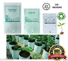 GROW BAGS POLY GROW BAGS UV STABILIZED 150 MICRONS LARGE SIZE 40x24x24 (10PCS)