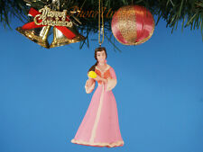 Christbaumschmuck Ornament Toy Disney Princess Belle Beauty and Beast Pink Dress