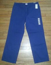 NWT $58 34x30 Steel Blue DOCKERS D2 Straight Fit Off The Clock Khakis! p2454