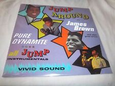 JAMES BROWN & OTHER GREAT ARTISTS-JUMP AROUND WITH-POLYDOR 771 NEW SEALED LP