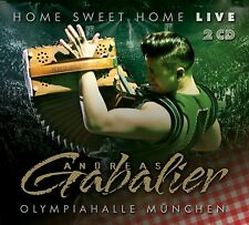 ANDREAS GABALIER - HOME SWEET HOME! LIVE AUS DER OLYMPIAHALLE MÜNCHEN 2 CD NEU
