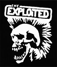 THE EXPLOITED SKULL Patch / Aufnäher NEU 1,20€ Punk Punkrock HC Punks not Dead