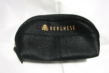 Vintage Thai Airway  Travel Amenity Kit-Cosmetic  Bag  Borghese Snake Leather-3