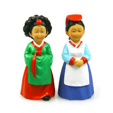 Korean Traditional Figure Dae Jang Geum and Court Lady Doll of Memory Handmade