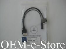 2013 2014 2015 Mercedes G550 G63 GLA250 iPod iPhone iPad AUX Cable Adapter OEM
