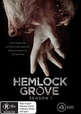 Hemlock Grove : Season 1 (DVD, 4-Disc Set) : NEW DVD