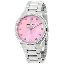 Swarovski City Pink Mother of Pearl Dial Ladies Watch 5205993