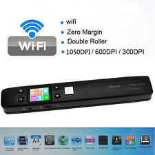 Portable Digital iScan Wifi 1050 DPI LCD Scanner Document Photo JPG PDF Receipts