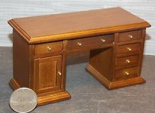 Dollhouse Miniature Office Executive Desk 1:12 one inch scale H54 Dollys Gallery