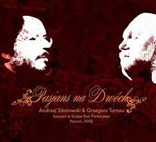 Andrzej Sikorowski & Grzegorz Turnau - Pasjans na Dwoch (CD) 2010 NEW