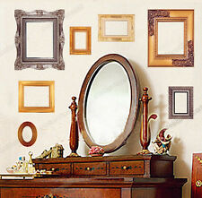 Classic Photo Frame Pictures Wall Stickers REMOVABLE Vinyl Art Decal Home Lounge