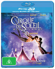 Cirque Du Soleil: World's Away (3D Blu-ray/Blu-ray) (2  - BLU-RAY - NEW Region B