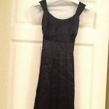 Ladies Little Black Dress Size 0 By Teenflo Maurice Tarica. 100% silk