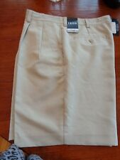 NWT Size 34 IZOD Mens Beige Performx Golf Cargo Shorts COOL FX Retail $50