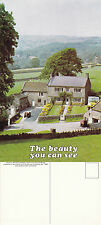 1970's THE BEAUTY YOU CAN SEE UNUSED COLOUR POSTCARD FOR RNIB