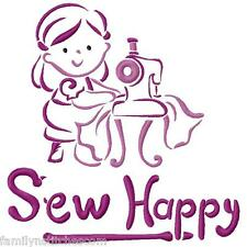 Outline Little Sew Set 1 10 Machine Embroidery Designs on CD in 10 sizes