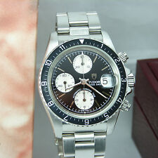 Tudor Prince Date Chrono Stainless Steel Men's Wristwatch 79270