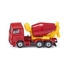 Siku 0813 Scania TRUCK Cement mixer red (Blister pack) new! °