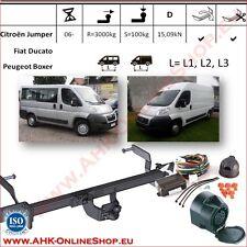 Gancio traino Citroen Jumper / Fiat Ducato L=L1/L2/L3 2006- +elettrico 13-poli