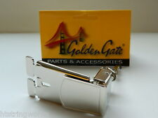Banjo Parts Old Presto Tailpiece P-118 Nickel Plated Brass NEW  *Free US Ship*