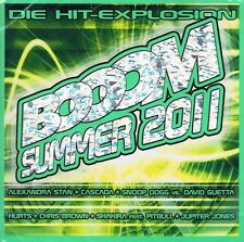 BOOOM Summer 2011 - 2CDs Neu Alexandra Stan Jupiter Jones Beth Ditto Starsplash