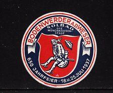 48195/ Reklamemarke - 650 Jahrfeier Bodenwerde/Weser - 1937