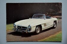 R&L Modern Postcard: 1957 Mercedes 300SL, JA Dixon, Not Used or Posted