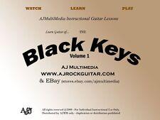 Custom Guitar Lessons, Learn Black Keys v1 guitar style