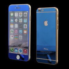 Color Tempered Mirror Glass Screen Protector Front Cover iPhone 7/5s/6/6s/Plus