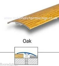 Aluminium Oak Floor Door Bar Transition Threshold Strip For Laminate Tile Carpet