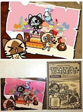 Monster Hunter AIROU Clear File White Day A5 Sz CAPCOM Licensed New Cat Kitty