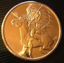 1 OZ COPPER ROUND AMERICAN INDIAN SERIES - RED HORSE