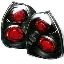 Tail Lights 3 Door Honda Civic 1996-2000 Altezza - Black