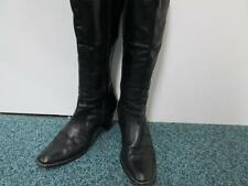 WOMENS WINTER CALF LENGTH BOOTS BLACK UK 5.5 GOOD/VERY GOOD SKU AA834