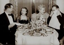 RARE STILL LAUREL AND HARDY WITH WIVES