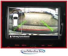 ORIGINALE FOTOCAMERA POSTERIORE VW TOUAREG 7p rns850 RNS 850 fotocamera Rear View Camera RVC