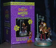 Scooby Doo & Shaggy Light Up Figurine Zoinks! Let's Get Outta Here By Applause