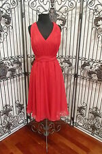 1072 SAISON BLANCHE 2273 SZ 10  $218 RED FORMAL  BRIDESMAID PARTY GOWN DRESS