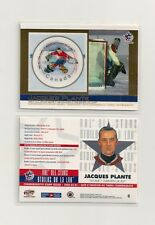 2003 Pacific & Canada Post NHL All-Star Game Stamp/Card #6 Jacques Plante