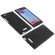 étui pour Blu Life One XL Portable Smartphone housse de protection Coque Noire