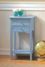 CAPE TOWN LIGHT BLUE SIDE END TABLE NIGHT STAND DECOR~10015982