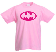 BATGIRL TRIBUTE GIRLS RETRO SUPERHERO T SHIRT
