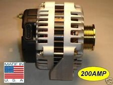 New 200 Amp Chevy Alternator GMC Cadillac Isuzu Buick Great Upgrade